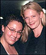Sophie Ward and Rena Brannan exchanged rings in 2000