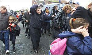 bbc news northern ireland picture gallery ardoyne