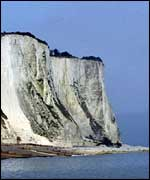 Dover's White Cliffs
