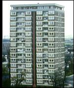 Council flats in the UK