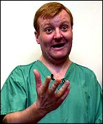 Charles Kennedy, leader of the Liberal Democrats
