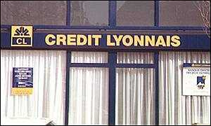 Credit Lyonnais posted bumper profits earlier this year