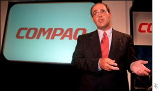Michael Capellas, Compaq's chairman and chief executive