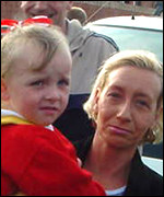 Patricia McFall and her daughter Kierna