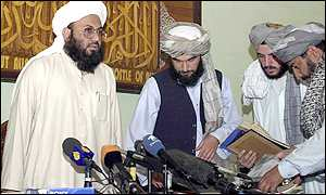 Taleban news conference