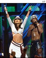 Jennifer Lopez and Ja Rule