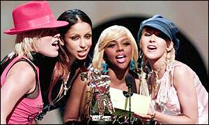 Pink, Mya, Lil' Kim and Christina Aguilera