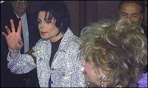 Jackson arrived at Madison Square Garden with close friend Liz Taylor
