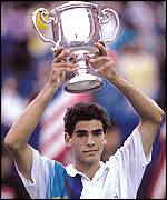 Sampras first won the US Open aged 19