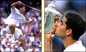 Pete Sampras took his career total to seven Grand Slam titles in 1995