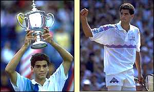 Agassi won the US Open in 1990 aged 19, he is still the youngest player to win at Flushing Meadow