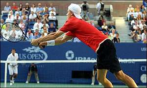 Hewitt won the second set 6-1