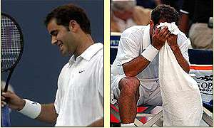 Sampras was never able to impose himself on the game