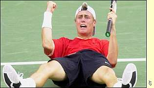 Hewitt wins the first Grand Slam of his career