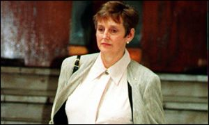 Stella Rimington when she was MI5 chief in 1993