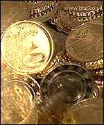 10 cent coins