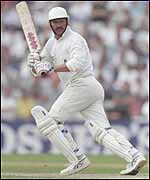 Graham Gooch batting for Essex in the NatWest Trophy