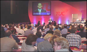 TUC delegates in Brighton are not in a happy mood