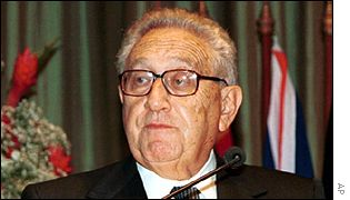 Henry Kissinger, former US secretary of state