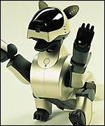 Sony's robot-dog, the Aibo