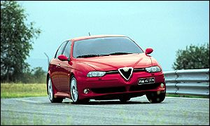 The new Alfa 156 GTA