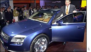The Audi Avantissimo concept car