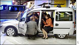 The new Opel Combo
