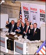 Wolseley lists on the NYSE