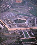 The Pentagon is the symbol of America's super power status