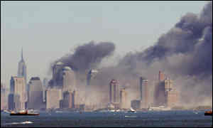 The World Trade Center was destroyed in the attack
