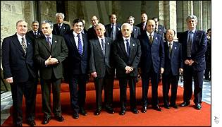 G-7 finance ministers and central bankers in Genoa