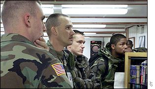 US soldiers in Bosnia