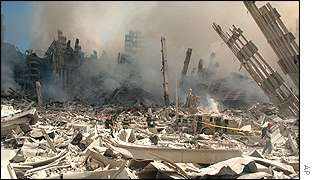 World Trade Center debris