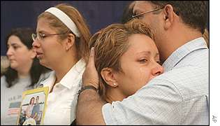 Relatives of World Trade Center victims
