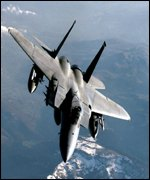 F-15C Eagle fighter