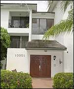 Mr Atta's house in Coral Springs, Florida