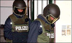 German police officers