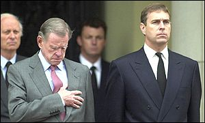 William Farrish and Prince Andrew