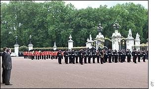 Ceremony at Buckingham Palace