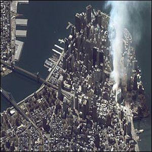 Satellite view of Manhattan Spaceimaging.com