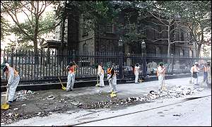 New York street cleaners