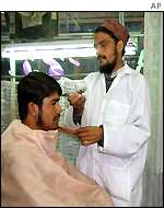 Hairdresser in Kabul