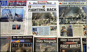 Australians newspapers