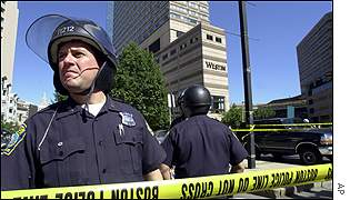 Police in Boston AP