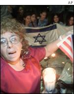 Esther Wachsman, mother of Nachshon Wachsman, who she says was murdered by a Hamas militant in 1994