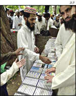 Tapes of Osama Bin Laden's speeches on sale in Islamabad