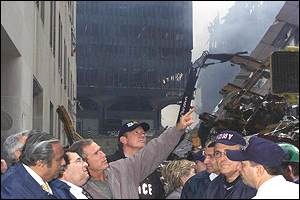 President Bush in New York