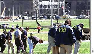FBI outside Pentagon