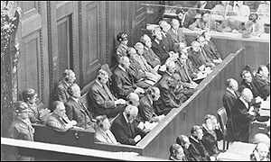 Opening of war crimes trial against Farben executives in September 1947