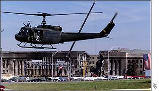 Helicopter at Pentagon